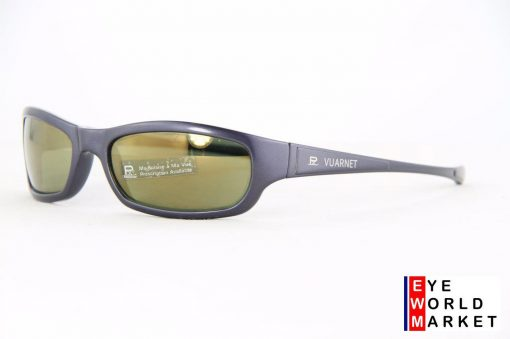 VUARNET 111 Blue Sunglasses PX3000 Gray Mineral Flash Bronze lens