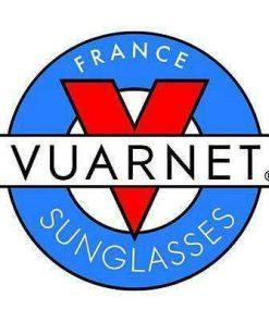 Vintage VUARNET 207 Brown  Sunglasses SKILYNX Mineral Brown Lens Gray flash