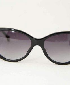 Carolina Herrera SHE 541 Black Women Sunglasses Gray Gradient Lens