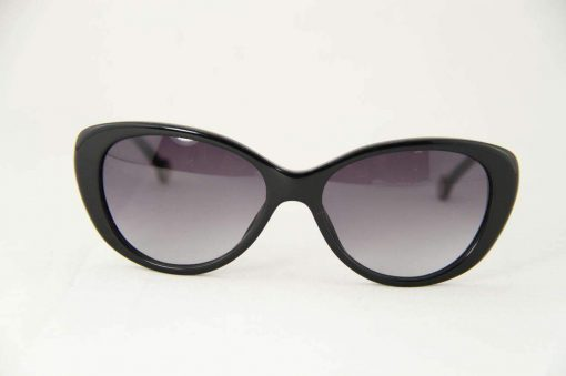 Carolina Herrera SHE 541 Black Women Sunglasses Gray Gradient Lens