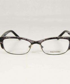 Valentino VAL 117 Gray Lace Eyeglasses