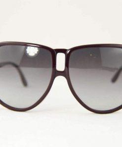 Stella McCartney SM4008 Sunglasses Round Black Metal frame PC Gray Gradient Lens
