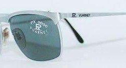 Vintage VUARNET 039 Steel Sunglasses PX3000 Gray MINERAL lens