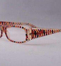 ALAIN MIKLI Eyeglasses AL0322 Crystal / Black / Purple Plastic Optical Frames
