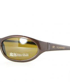 VUARNET 115 Brown Metallic Sunglasses UNILYNX Flash Purple Mineral Lens
