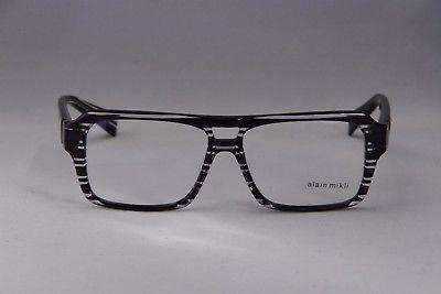 ALAIN MIKLI AL1214 Ray Purple in Crystal EYEGLASSES