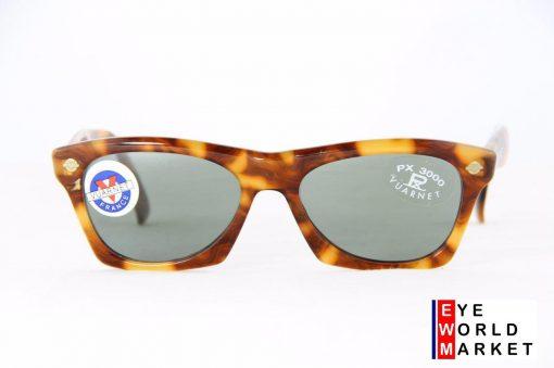 VUARNET 070 Dark Brown Sunglasses PX3000 Gray Lens