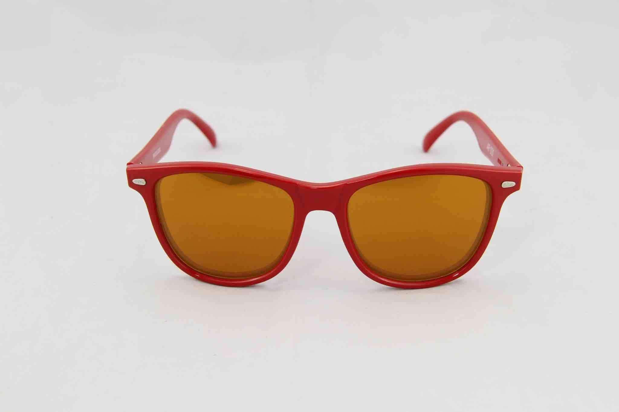 f205654eccdd Alain Prost 031 Red Sunglasses Brown Flash Lenses Flash Gold By Vuarnet  Made in France