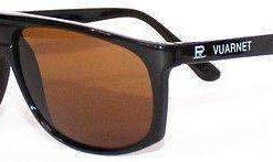VUARNET Sunglasses 458 Black PX2000 MINERAL Brown Lens