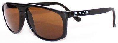 VUARNET Sunglasses 458 Black PX2000 MINERAL Brown Lens