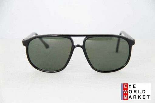 Vuarnet 017 Black Sunglasses PX3000 Gray lens