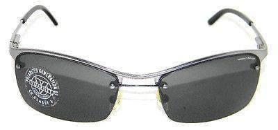 Vintage VUARNET 168  Charcoal Gray Sunglasses Polarized Gray lens