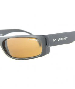 VUARNET 102 Black Matte Sunglasses Polarized Brown Lens