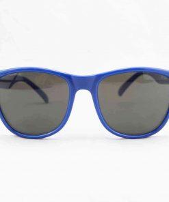 Alain Prost 031 Blue Sunglasses Gray Flash Lenses Internal Anti-Reflex By Vuarnet Made in France