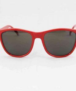 Alain Prost 031 Red Sunglasses Brown Flash Lenses Internal Anti-Reflex By Vuarnet Made in France
