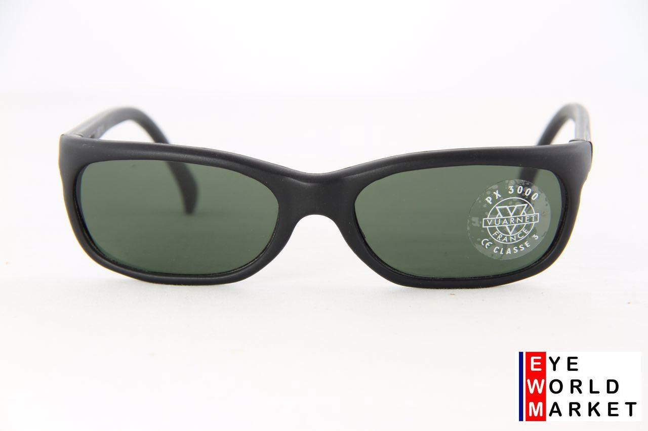 ac951d56520a VUARNET Men Women 037 Large Black Matte Sunglasses PX3000 Gray Lens ...