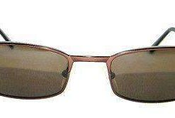 VUARNET 803E Men Women Brown Sunglasses PC Gray LENS