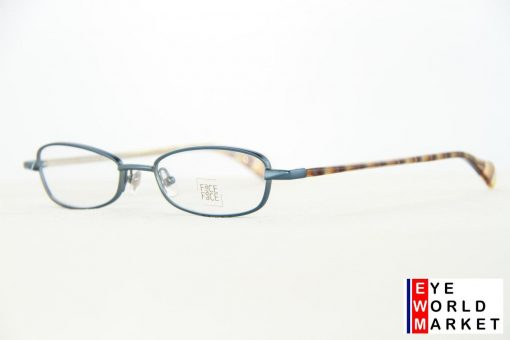 Face A Face Eyeglasses Honey Navy Blue Col 9109 Optical Frames