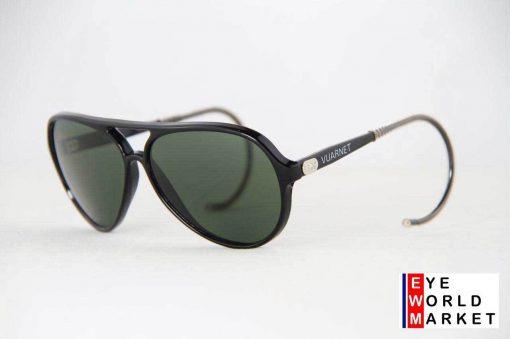 VUARNET Sunglasses 174 Black PX3000 Cable Hook MINERAL Gray Lens