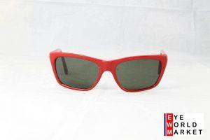 Vuarnet 006 Men Women Large Red Sunglasses PX3000 Gray Lens