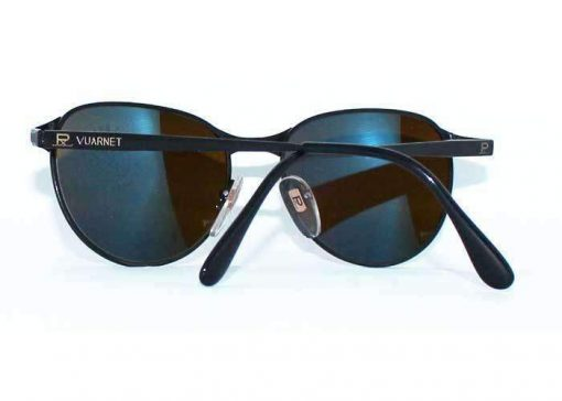 VUARNET Sunglasses 040 Black Metal PX3000 Gray Lens