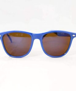 Alain Prost 031 Blue Sunglasses PX5000 Mineral Brown Lens Blue Anti-Reflective By Vuarnet Made in France