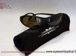 VUARNET 105 Black Matte  Sunglasses  Mineral UNILYNX Lens