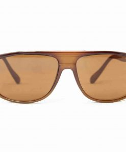 Alain Prost 458 Brown Sunglasses Brown Lenses Anti-Reflex By Vuarnet Made in France