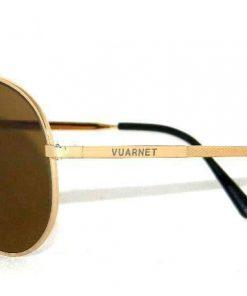 VUARNET   4036 PM Smal Gold   Sunglasses PX2000 Mineral Brown LENS