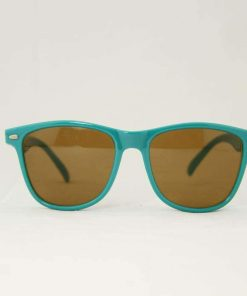 Alain Prost 031 Aqua Green Sunglasses PX2000 Mineral Brown Lens By Vuarnet Made in France