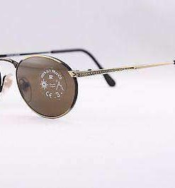 Vintage IXO 363 GOLD BLACK PC GRAY LENS MADE IN FRANCE