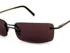 VUARNET 809E Men Women Brown Sunglasses PC Brown yellow Flash LENS