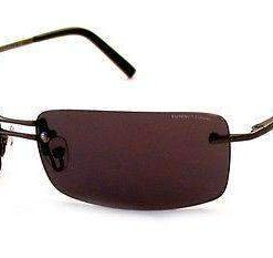 VUARNET 809E Men Women Brown Sunglasses PC Brown yellow Flash LENS