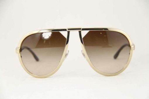 Stella McCartney SM3006 Sunglasses Round Bronze Metal frame PC Gradient Lens