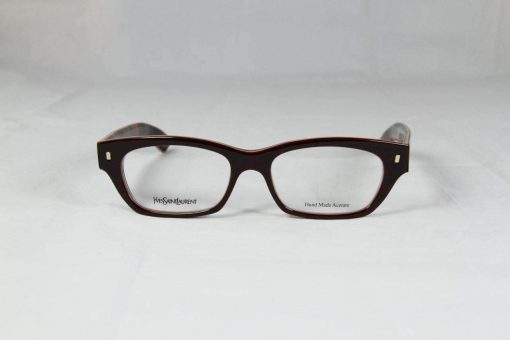 Saint Laurent 6333 Brown Eyeglasses made in Italy