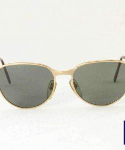 Vintage VUARNET 040 Gold Metal Sunglasses PX3000 brown lens
