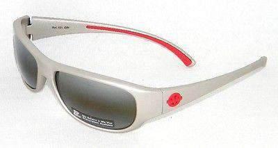 Vintage Vuarnet Sunglasses 121 Gray Plastic Frame Skilynx Lens