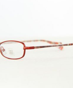 Face A Face Eyeglasses Honey Red Col 949 Optical Frames