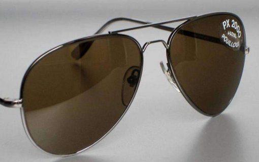 VUARNET 2037 Gun Sunglasses PX2000 Mineral Brown LENS