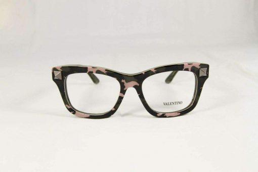 Valentino V2673 Purple Army Plastic Eyeglasses