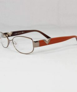 Valentino VAL 5763 Purple Orange Metal Plastic Eyeglasses