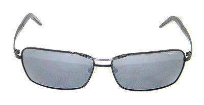 VUARNET 808E Men Women Black Sunglasses PC Gray Flash LENS
