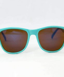 Alain Prost 031 Aqua Green Sunglasses PX2000 Mineral Brown Lens Violet Anti-Reflective By Vuarnet Made in France