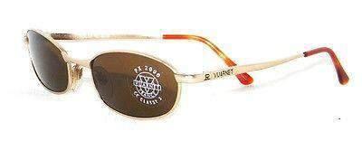 Vintage VUARNET 704 Gold  Sunglasses PX2000 Mineral Brown Mineral Lens