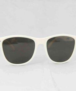 Alain Prost 031 White Sunglasses Gray Flash Lenses External Anti-Reflex By Vuarnet Made in France