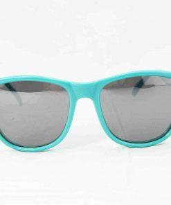 Alain Prost 031 Green Sunglasses Gray Flash Lenses External Anti-Reflex By Vuarnet Made in France