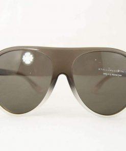 Stella McCartney SM4021 Sunglasses Gray Frame PC Gray Lens