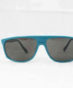 Alain Prost 458 Green Sunglasses Gray Flash Lenses Internal Anti-Reflex By Vuarnet Made in France