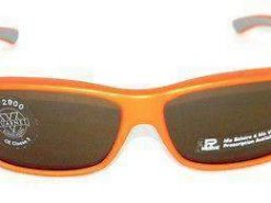 VUARNET Sunglasses 122 Orange PX2000 MINERAL Brown Lens