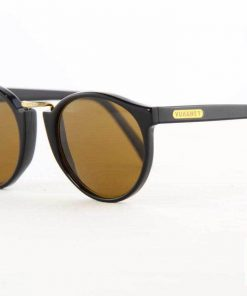 VUARNET Sunglasses 401 Black PX2000 Mineral Brown Lens